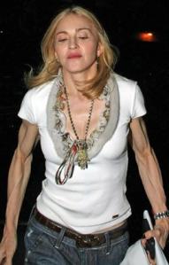 Madonna's Scary Gun Show