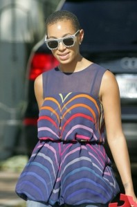Solange Knowles' New Haircut