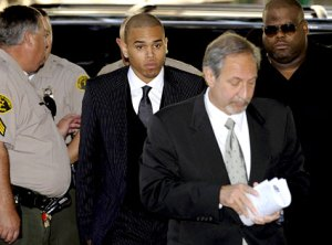 Chris Brown Sentenced